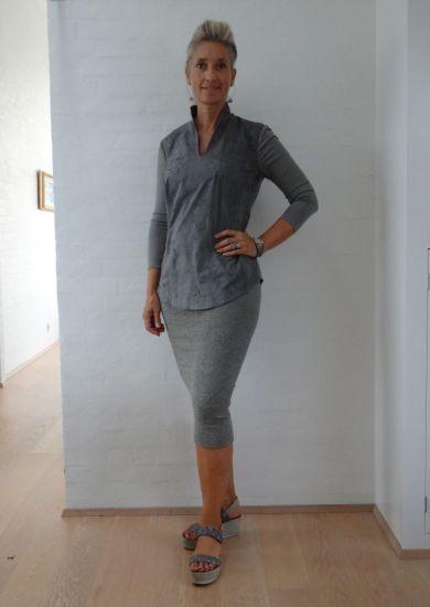 Metalic stretch nederdel / kjole