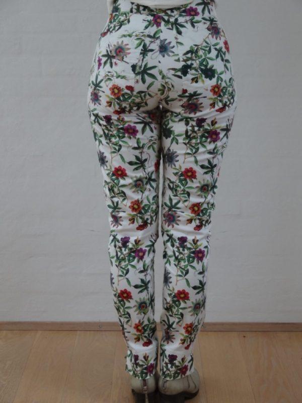 Blomstret bukser med lommer