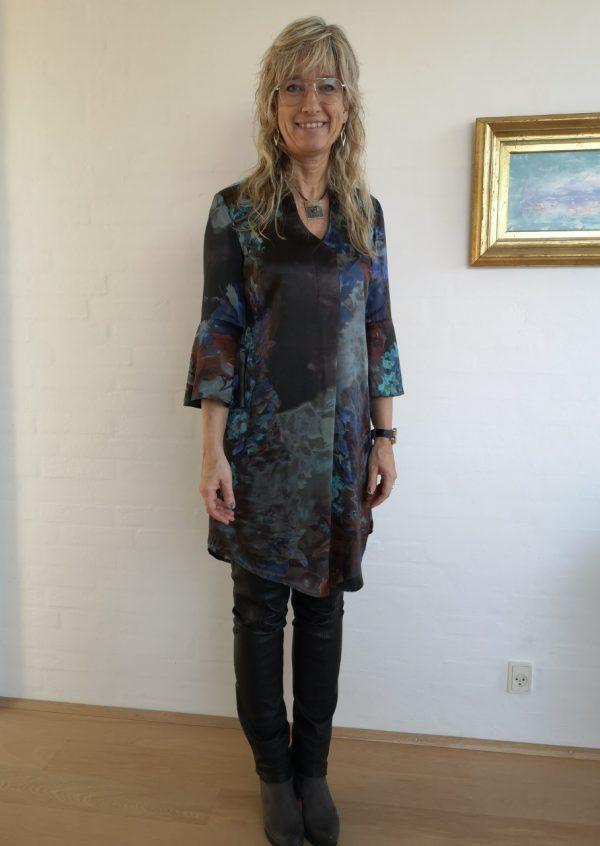 Smuk tunika i italiensk silke