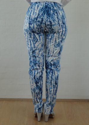 Friske bukser i blå hvide farve